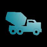 Icône d'un camion toupie