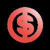 Icône représentant le symbole dollar