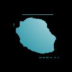 Icône représentant l'île de La Réunion